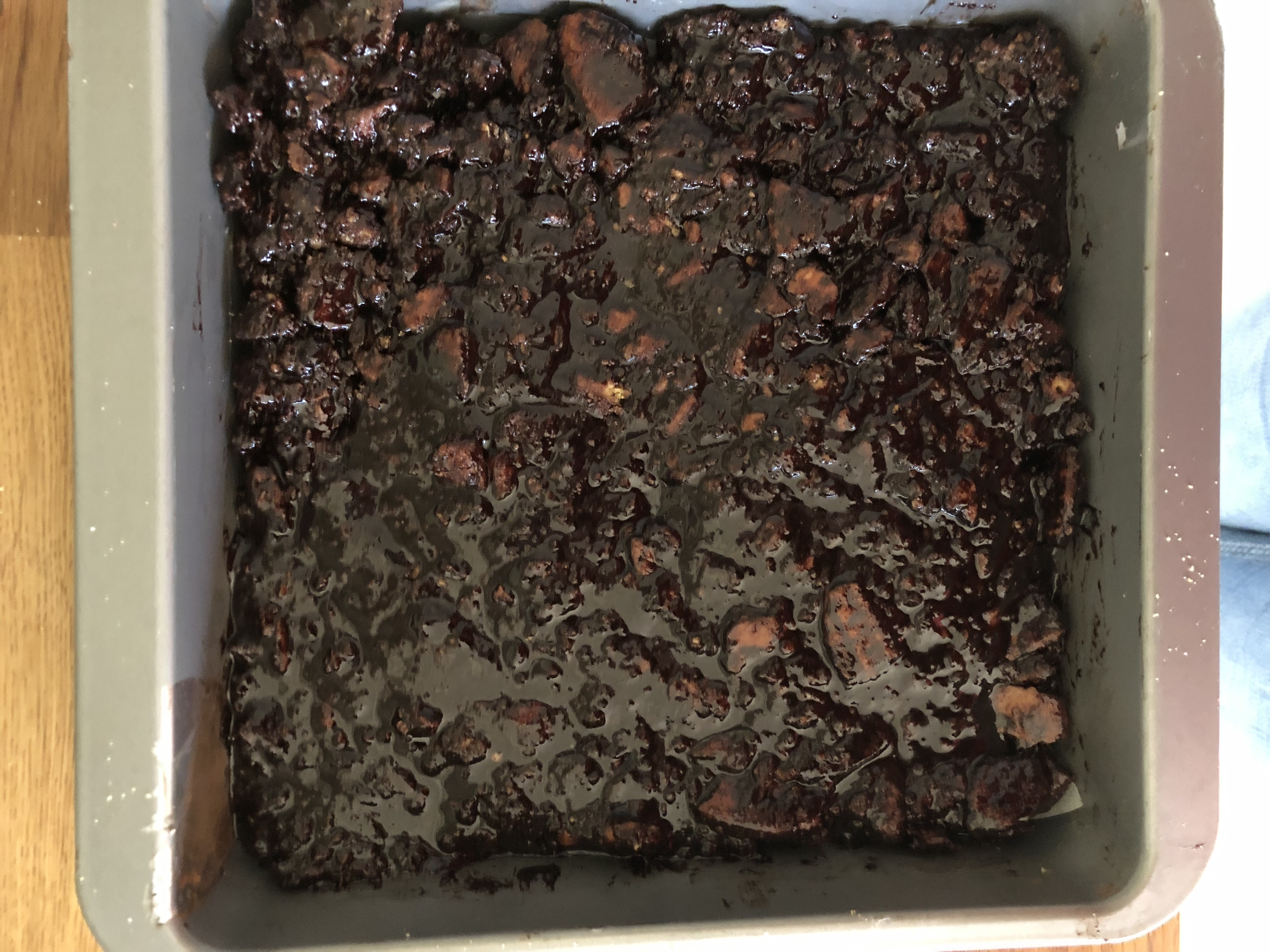 chocolate and biscuit base mix